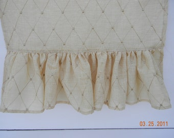 Silk Embroidered Runner