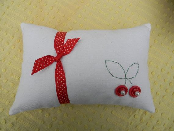 Sweet Cherry Pillow