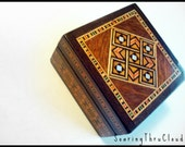 Syrian Vintage Square Jewelery Box (RESERVED ATM)