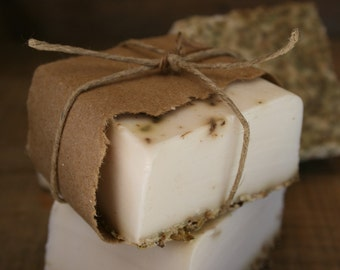 Lemon Lavender Goat's Milk Soap