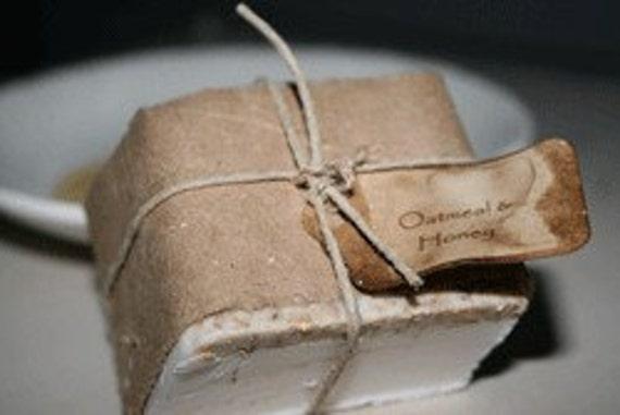 Oatmeal & Honey Goat's Milk Soap