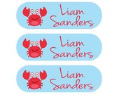 Camp Clothing Labels for your Child - Iron on and care tag label package - Perfect for Children at Camps