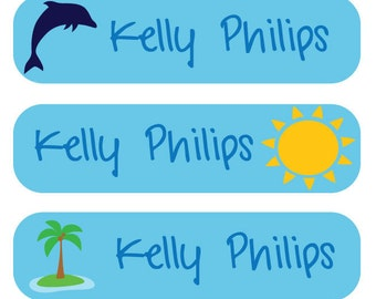48 Personalized Baby Labels