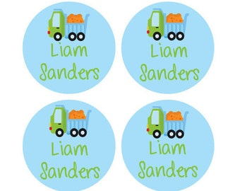 34 Personalized Children's Stick on Laundry Care Tag Labels - Waterproof and Durable for your child