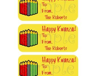 81 Custom Kwanza Gift Tags