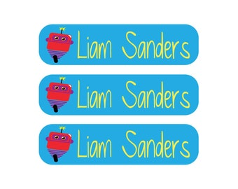 48 Dishwasher safe and Waterproof Labels - Great for daycare, school, baby bottles, sippy cups and more