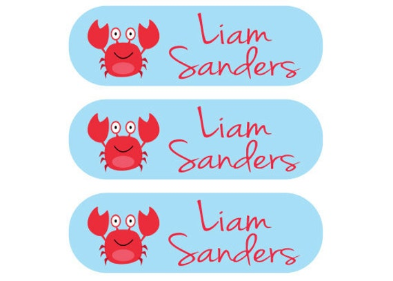 Laundry Care Tag & Shoe Labels - Two sets of Labels - Perfect for Children at Camps