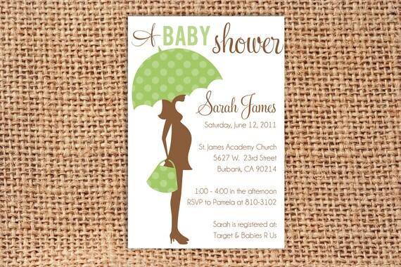 Mom & Baby Invitation