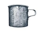 tin measuring cup watercolor giclee print - 8x10 // kitchen art // wall decor