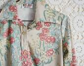 Marcia // Vintage Floral Blouse