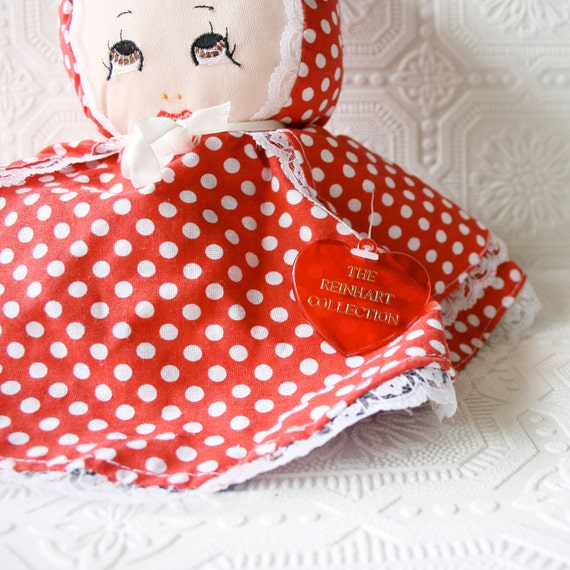 Vintage Little Red Riding Hook Book & Reversible Doll - The Reinhart Collection