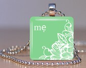 Me (Mother in Vietnamese) Adoption Pendant - Your Choice of Color and Personalization