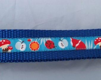 "Dog Collar- Fox (1"" Wide)"