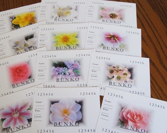 Bunko Score Cards or Bunco Score Cards For Any Season