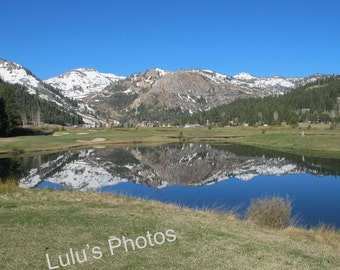 Squaw Valley in the Spring Collection, Landscape Photography, Personalized Cards and Peints
