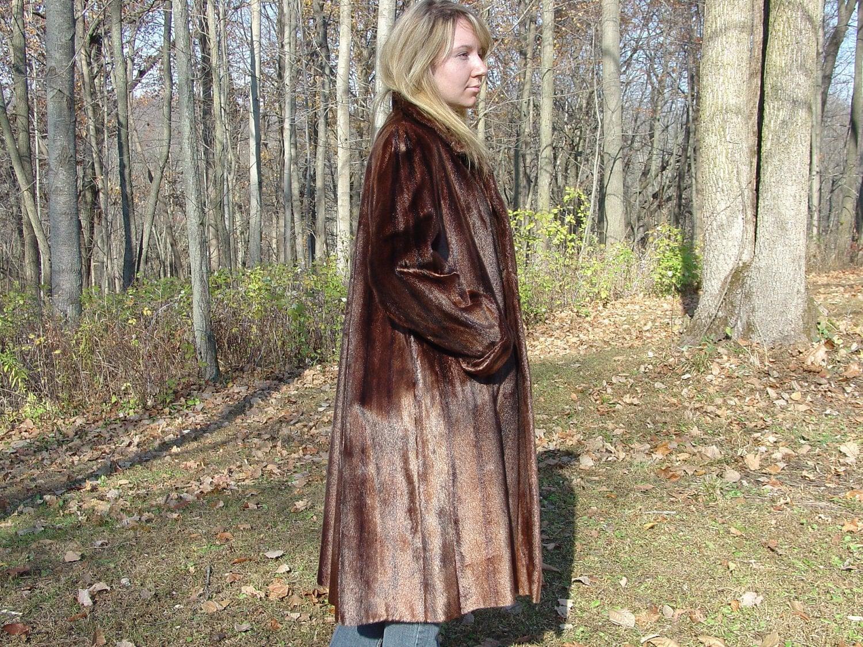 Vintage seal fur coat