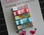 Alligator Hair Clips for Everyday in Pastels Baby Barrettes Toddler Hair Clips Girls Hair Clips Baby Alligator Clips