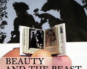 LAST ONE - Miniature Book - Beauty and the Beast - 1:12 Scale