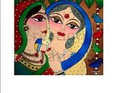 Kanya Viday - An Emotional Fairwell - PRINT