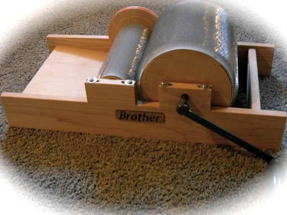 New Brother Drum Carder Medium or Fine tooth