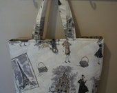 Paris Apartment Handbag Tote