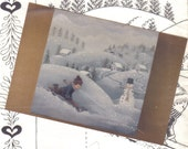 Pattern Tole and Decorative painting Snowfall 1984