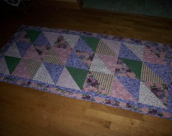 Bed runner - quilted