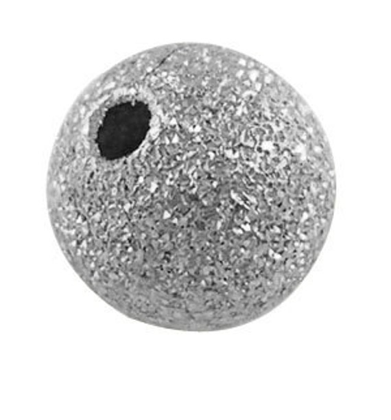 30 Antique Silver Stardust Metal Round Beads  8mm  bme0100