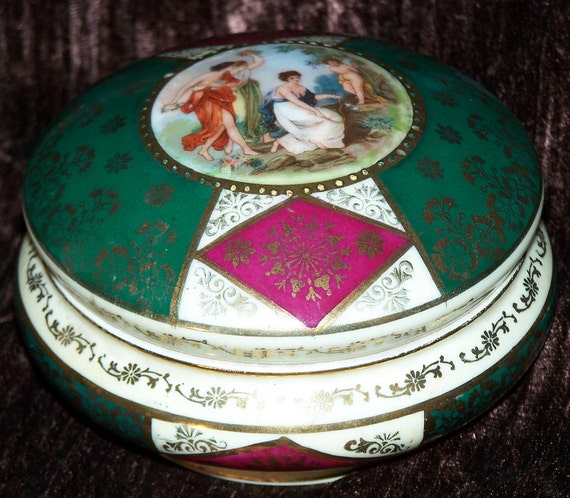Items similar to Victoria China Porcelain Czechoslovakia ...