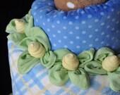Baby Washcloth Thin Rose ...