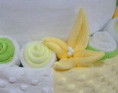 Washcloth Lily Video Directions for Diaper Cake
