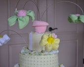 Working With Cake Wires for Diaper Cake