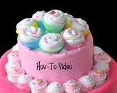 Baby Washcloth Cupcakes, ...