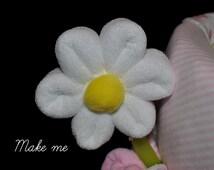 Washcloth Daisy, WashAgami ™, for a diaper cake Instructional Video