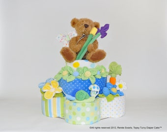 Diaper Cake How To, Basic 2 & 3 Layer Instructional Video