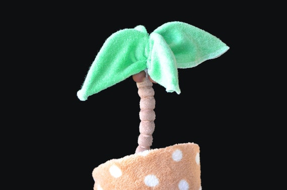 Baby Washcloth Palm Tree, WashAgami ™, For a Diaper Cake How To Video