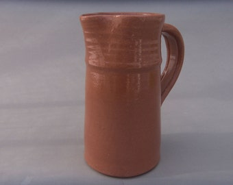 Small Ceramic Pitcher - Terracotta Milk or Juice Pitcher - Pottery  Vessel - Earthtone