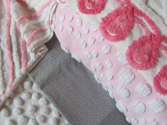 Reserved listing for custom vintage chenille pillow cover