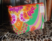 small  cosmetic pouch - perfect for organizing your purse