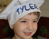 Personalized Chef's Hat, Child Size
