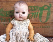Vintage Shabby Tiny Tears Doll