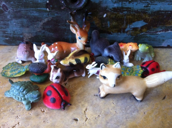 Instant Vintage Toy Animals Collection