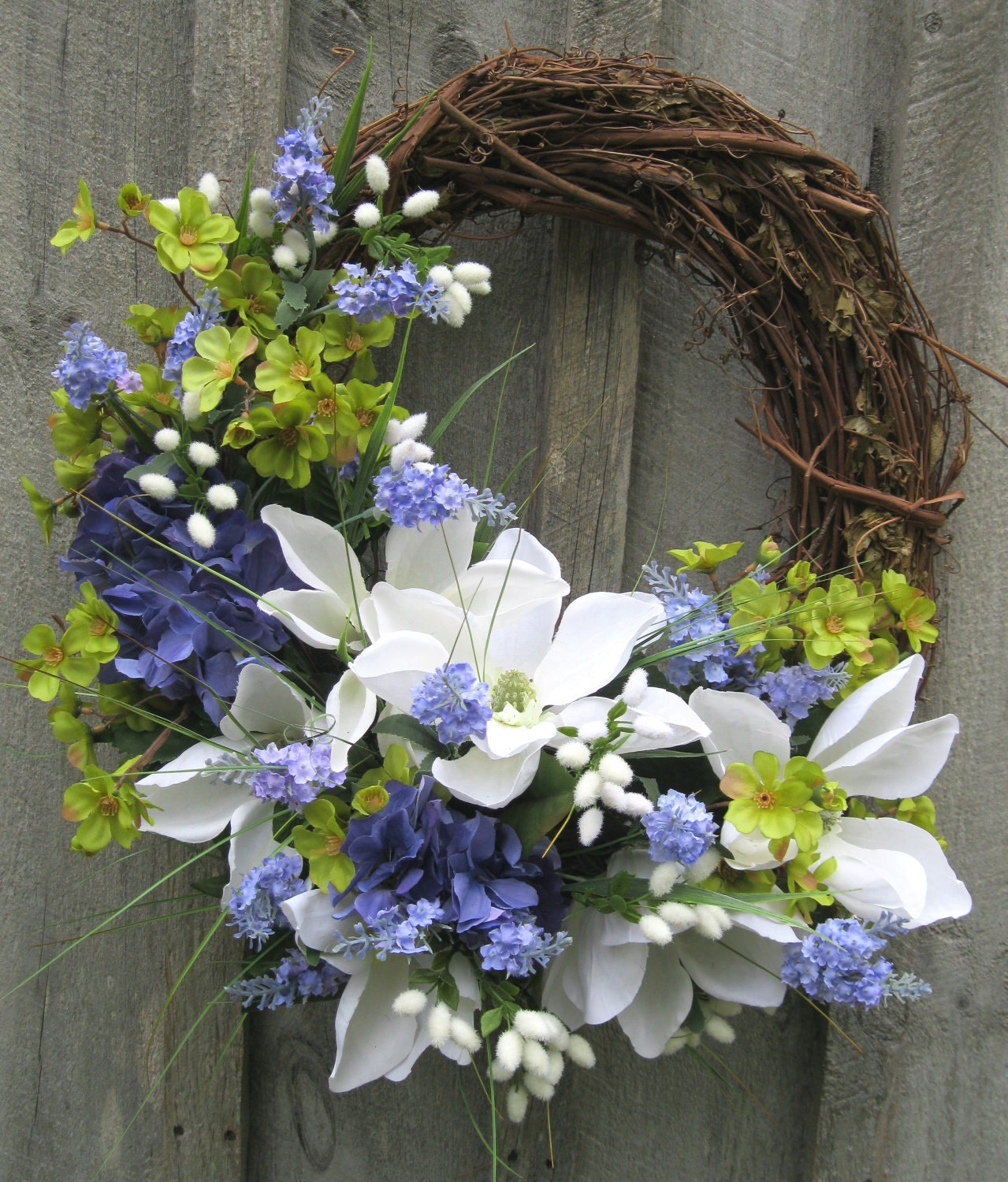 DIY Spring Wreath With Flowers | Make Something Mondays! |Spring Flower Wreath