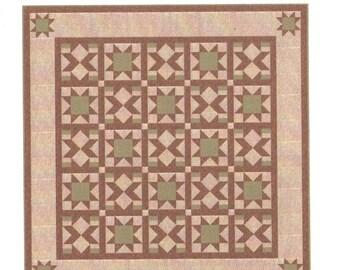 Quilt Pattern - Prairie Star