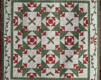 Quilt Pattern - Christmas Cactus