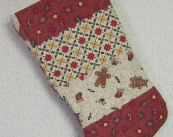 Quilted Christmas Stocking - Large