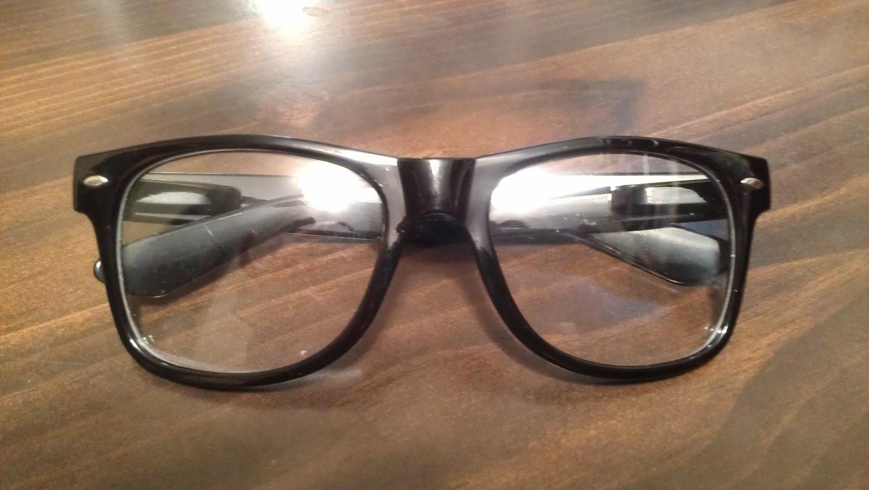 Fake Black Rimmed Glasses Reserved For Dreamcake