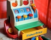 1970's Fisher Price Cash Register