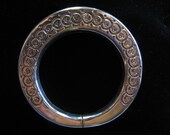 Reserved for Alice - Vintage Sterling Silver Tribal Bangle from Rajasthan,India