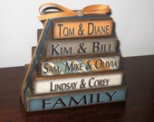 Personalized Family Name Stackers - Mothers Day Gift